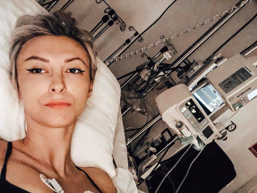 Andreea Bălan s-a externat din spital. Cum se simte acum artista
