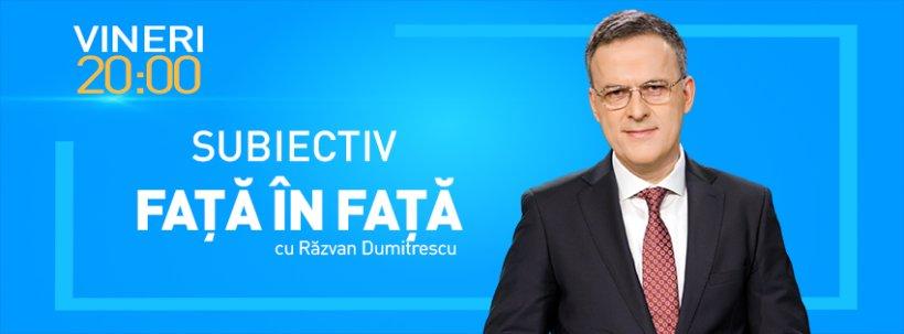 Vineri de la ora 20.00 - o nouă ediție SUBIECTIV Față-n Față! Să PLECE sau să RÂMÂNĂ TUDOREL TOADER la Ministerul Justiției?