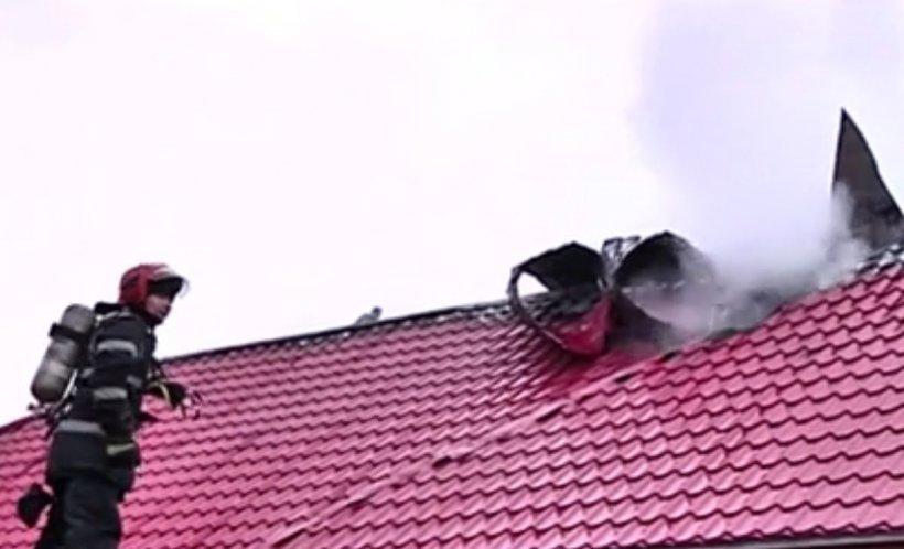 Incendiu violent la o grădiniţă din Vâlcea
