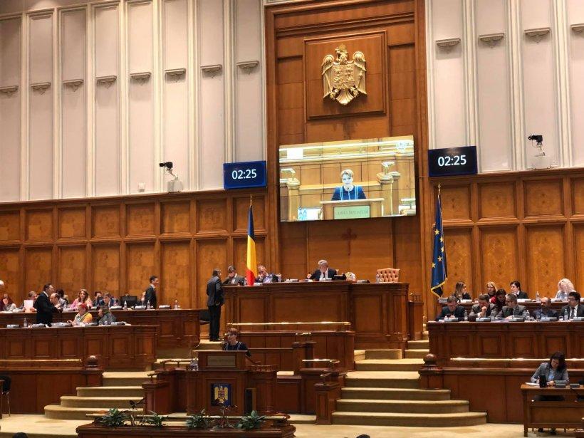 Olguța Vasilescu a votat DA la moțiunea simplă contra ministrului Transporturilor, Răzvan Cuc