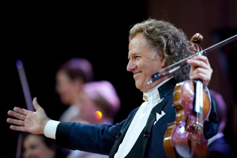 Imagini de la concertul extraordinar susţinut de André Rieu la Cluj - VIDEO