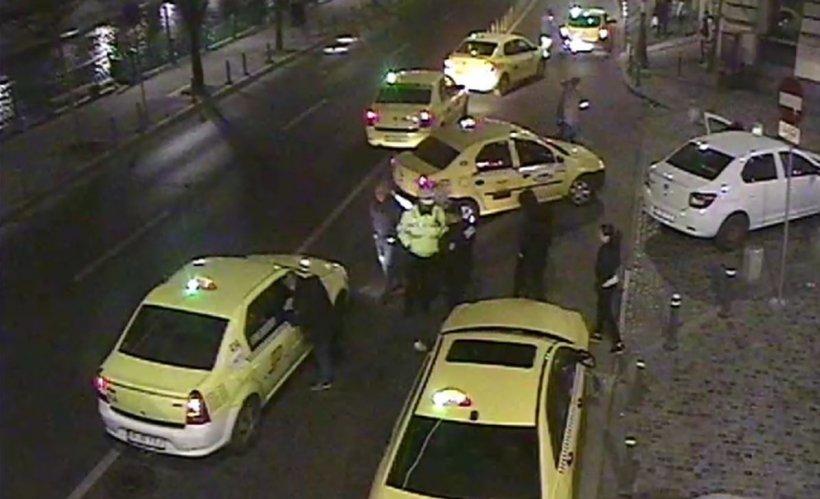 Controale în centrul Capitalei. Ce au pățit taximetriștii care obișnuiesc să refuze cursele sau săpropună alte prețuri