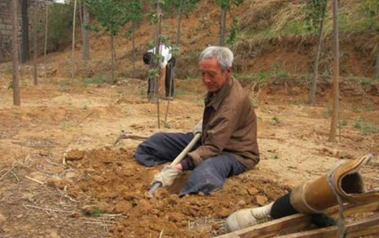 """Deși nu are picioare, un bătrân de 70 ani a plantat 17 mii de copaci. """"Atâta timp cât voi trăi, voi continua să plantez copaci pentru generațiile viitoare"""""""
