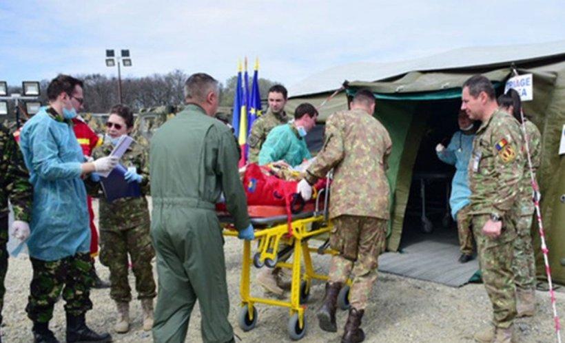 Cel mai mare exercițiu medical al NATO, în România. Acțiuni spectaculoase la noapte, în București