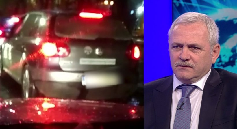 Liviu Dragnea, urmărit de două mașini dubioase după ce a plecat de la Antena 3