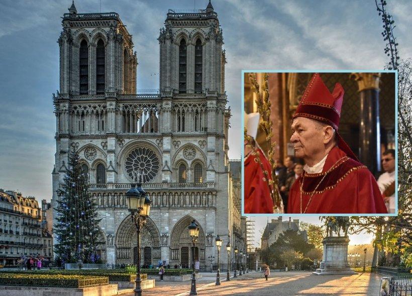 Incendiu la Notre Dame. Arhiepiscopul Ioan Robu:  Este o dramă, o lovitură grea pentru Biserica Catolică