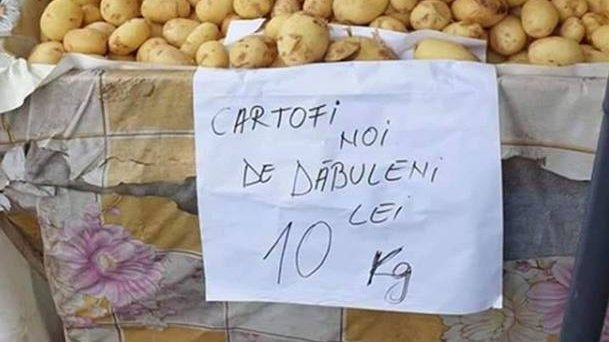 Primii cartofi românești au ajuns în piețe. E incredibil cât a ajuns să coste un kilogram - FOTO