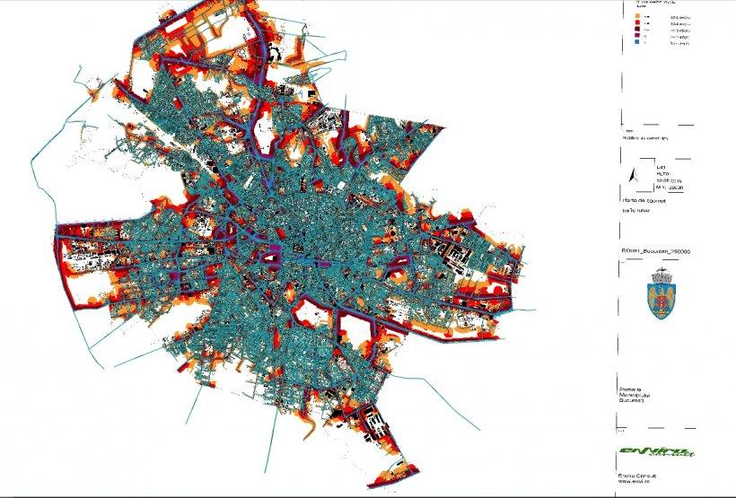 Harta Zgomotului Din București Care Sunt Zonele Cele Mai