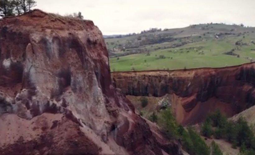 Loc de o frumusețe rară. Ultimul vulcan care a erupt în România, la doar o oră de mers cu maşina de Braşov - VIDEO