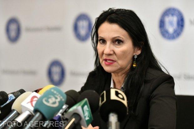 """Ministrul Sănătăţii, Sorina Pintea: """"S-a vorbit foarte mult despre justiţie şi cred că Tudorel Toader a greşit"""""""
