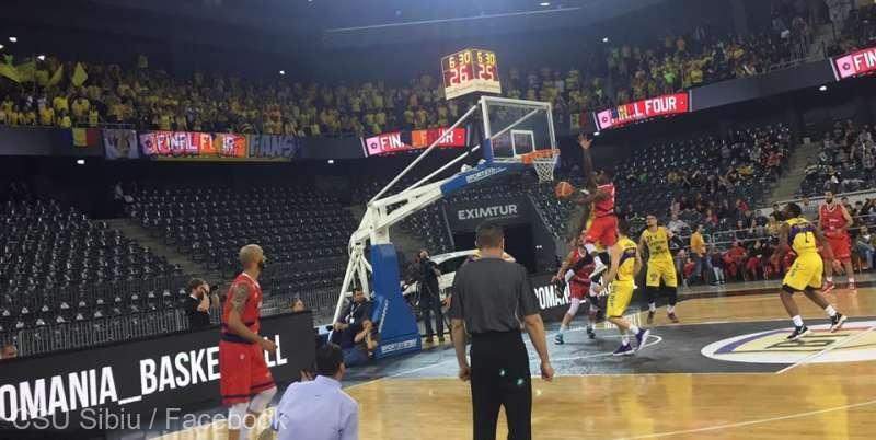 CSU Sibiu a câştigat Cupa României la baschet masculin