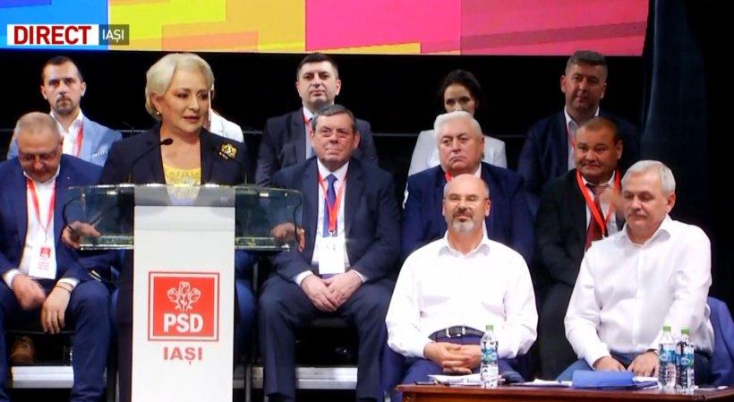 Viorica Dăncilă, răspuns prompt pentru liberali: Un om care jignește femeile este un om slab. Femeile sunt mult mai puternice decât el