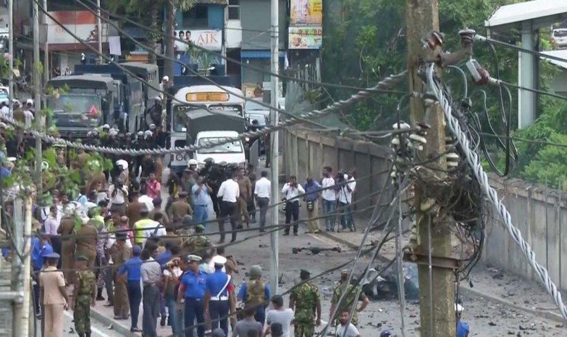 O nouă explozie zguduie Sri Lanka. Un dispozitiv exploziv a fost detonat în apropierea unei biserici