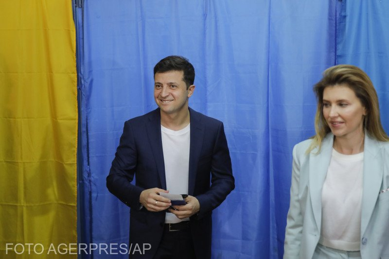 Ucraina are președinte un actor de comedie. Nu e o glumă!