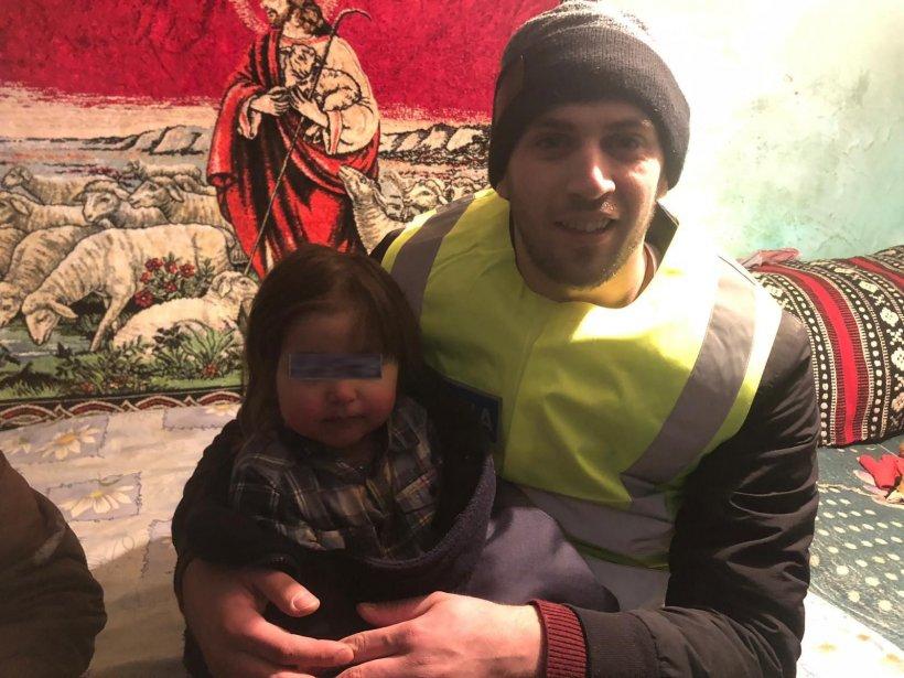 Fetița de doi ani, căutată toată noaptea de autoritățile din Bacău, a fost găsită