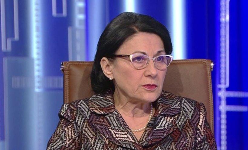 Ecaterina Andronescu, despre olimpicul decedat: Este un moment greu, care ne afectează
