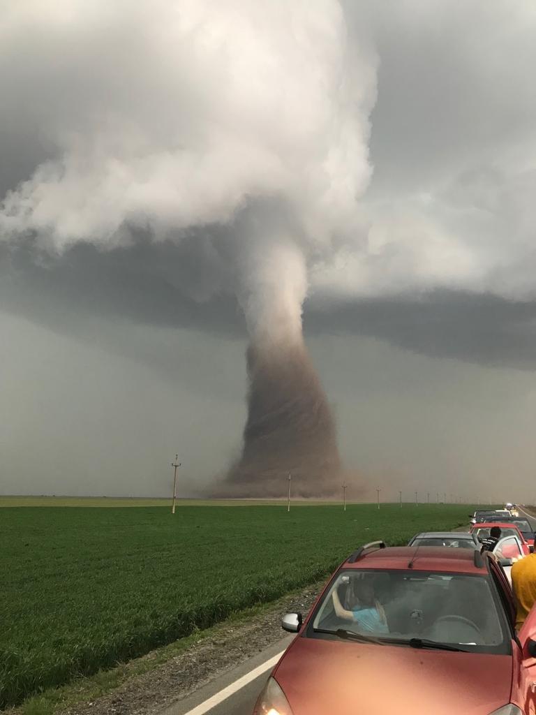 Ce viteză avea vântul în momentul în care s-a format tornada din județul Călărași