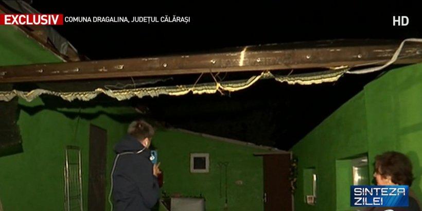"""Imaginile distrugerilor provocate de tornada din Călărași. """"S-a ales praful de tot"""""""