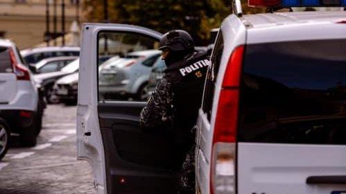 Scandal de proporții între doi vecini, în Miercurea-Ciuc. Incidentul a fost aplanat de polițiști cu focuri de armă