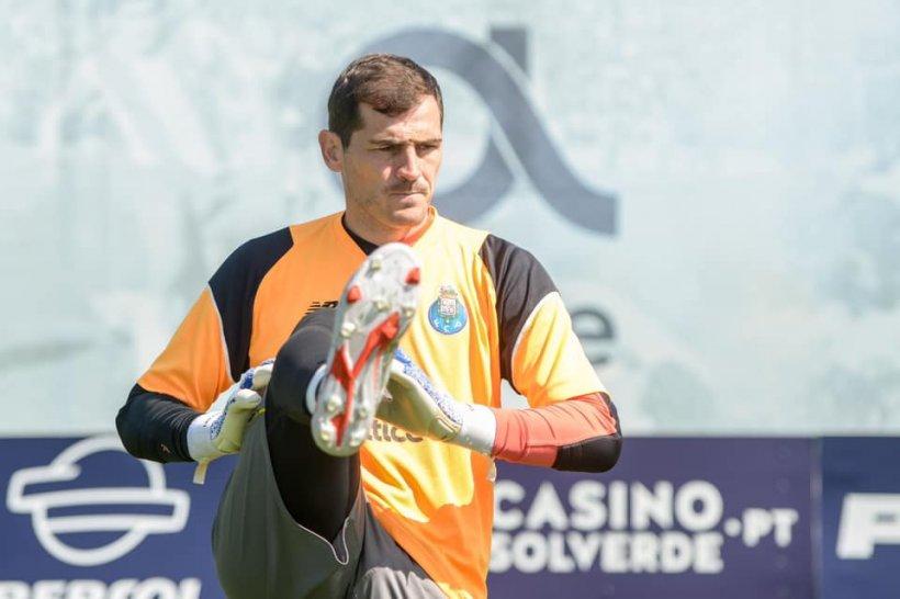 Iker Casillas a suferit un infarct la antrenamentul lui FC Porto. Starea sa este stabilă