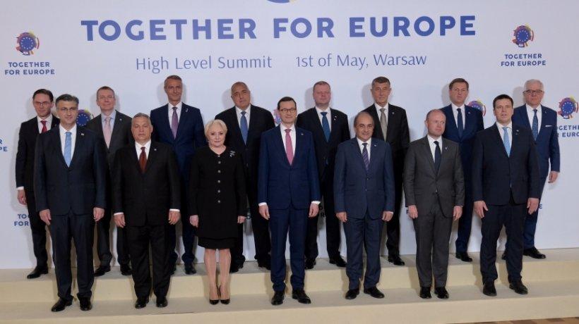 Premierul Dăncilă, la reuniunea șefilor de Guvern din Europa Centrală și de Est care au aderat la UE după 2004: E nevoie de tratament egal