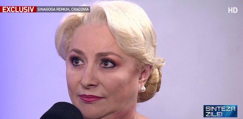 """Viorica Dăncilă, prezentă la Marșul Vieții de la Auschwitz. """"Este un eveniment tulburător. Am ales să particip pentru a arăta solidaritate"""""""