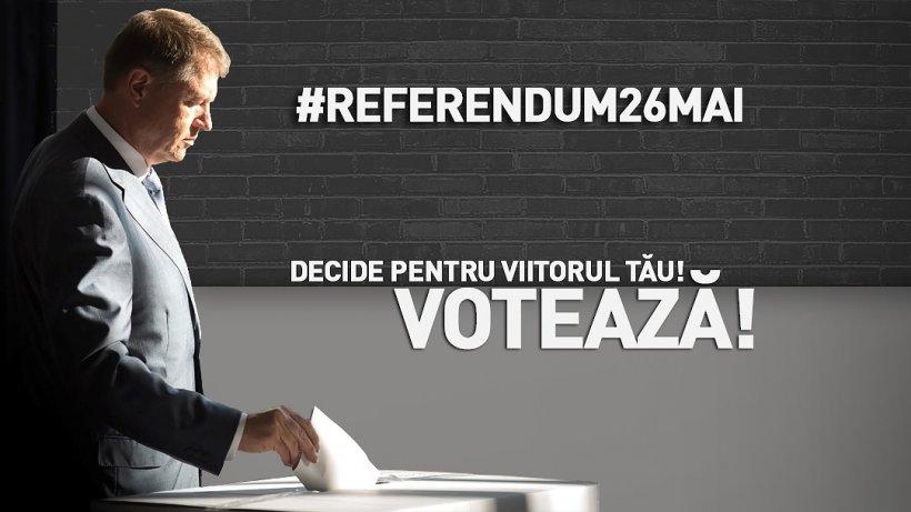 Klaus Iohannis a început campania pentru referendum. Ce a apărut pe pagina de Facebook a Președintelui 72
