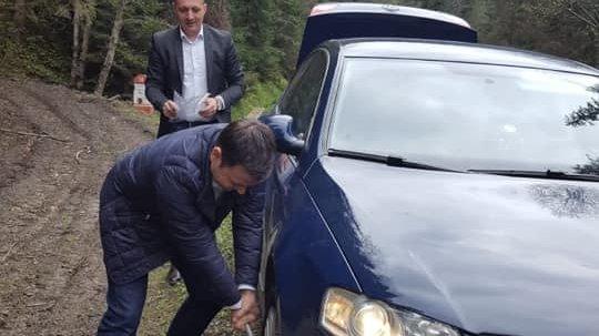 Un ministru din Guvernul Dăncilă a rămas blocat într-o pădure din Suceava