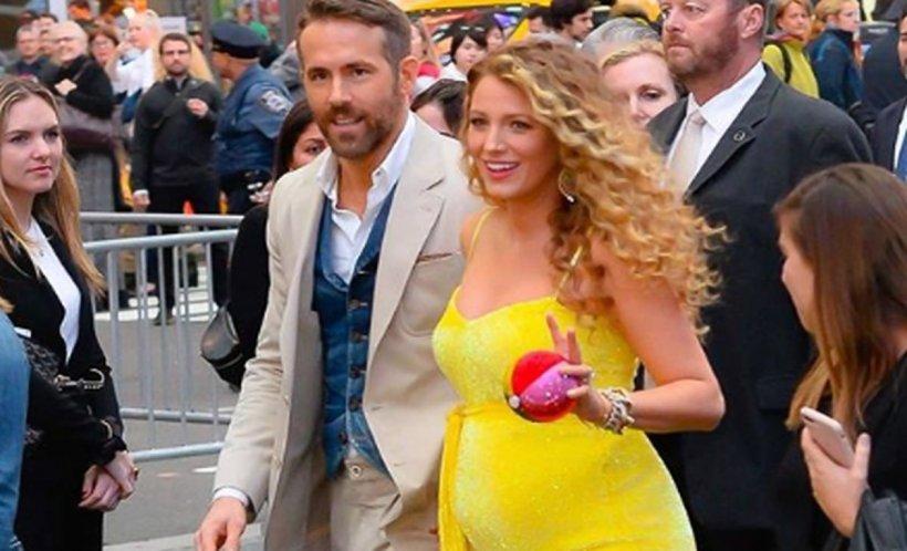 Blake Lively este însărcinată! Acesta va fi al treilea copil al actriței cu soțul ei, Ryan Reynolds