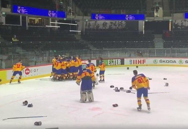 Selecționata de hochei a României a promovat în al doilea eşalon mondial
