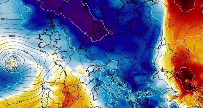 Noi date de ultimă oră de la meteorologi! Temperaturile scad dramatic în toată țara