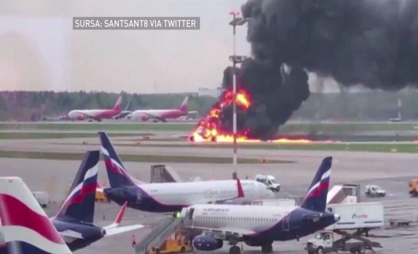 Noi imagini de la tragedia aviatică din Rusia, unde au murit 45 de persoane - VIDEO cu un puternic impact emoțional