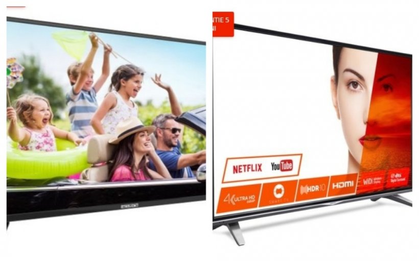 eMAG reduceri. Televizoare 4K Ultra HD si la 950 de lei