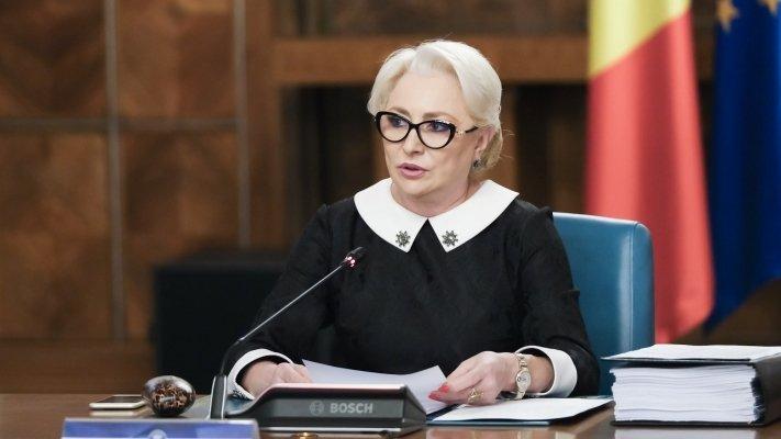 Premierul Dăncilă: Vom adopta miercuri ordonanța de urgență pe tema referendumului