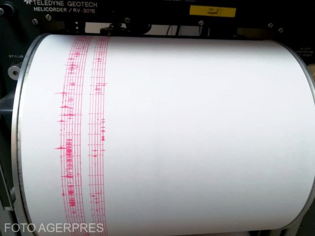 Cutremur în Marea Neagră. Ce magnitudine a avut seismul
