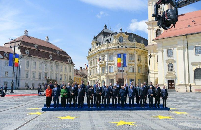 Be EU. Zi crucială: Viitorul Uniunii Europene se decide. S-a adoptat declarația de la Sibiu 72
