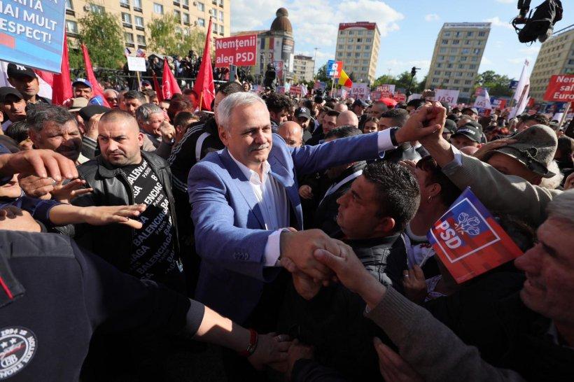 Liviu Dragnea, apel la români: Vă chem pe 26 mai la vot să apărăm pensiile și salariile mărite 16