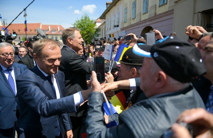Președintele Consiliului European, Donald Tusk, un nou discurs în limba română: A fost un summit excepțional. M-am îndrăgostit de Sibiu! VIDEO 16