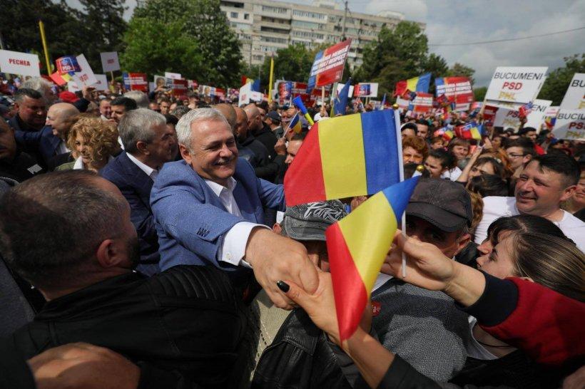 Liviu Dragnea, după mitingul PSD de la Galați: Noi suntem România reală, merităm mai mult respect!