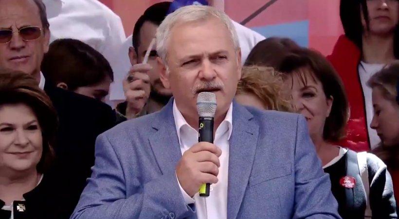 Miting PSD la Galați. Liviu Dragnea: Iohannis a furat și ziua Europei. Nu îl bagă nimeni în seamă. Asta e soarta slugilor!