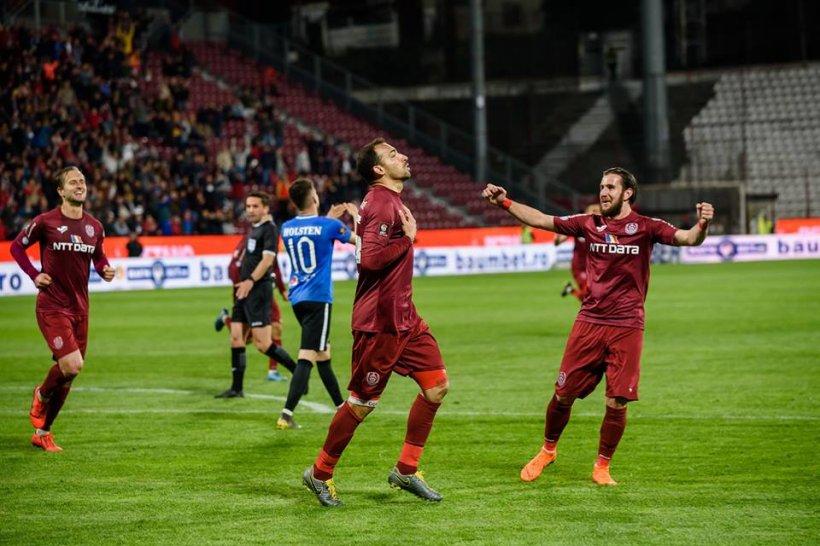 CFR Cluj a câștigat titlul în Liga I pentru al doilea an consecutiv