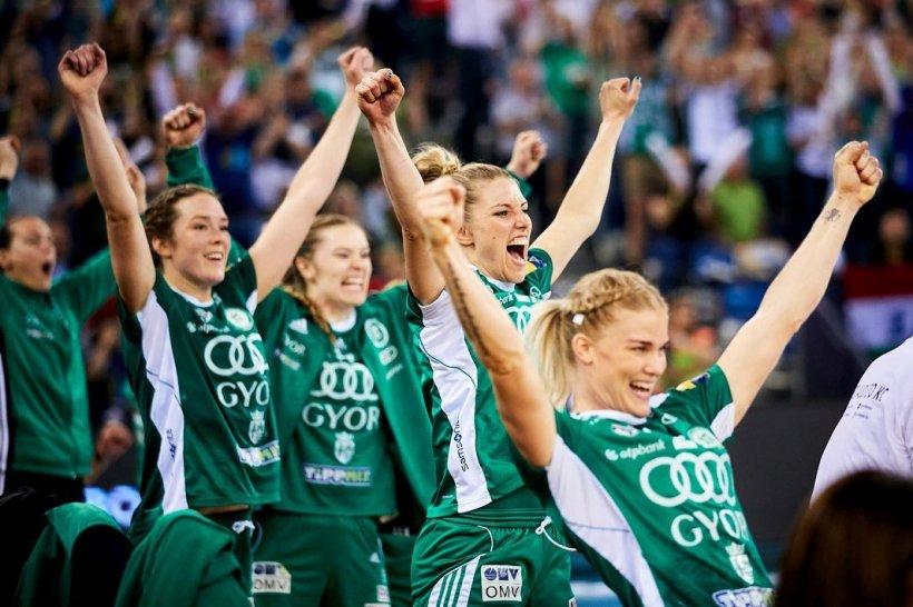Gyori Audi ETO KC, echipa Crinei Pintea, a câștigat Liga Campionilor la handbal feminin