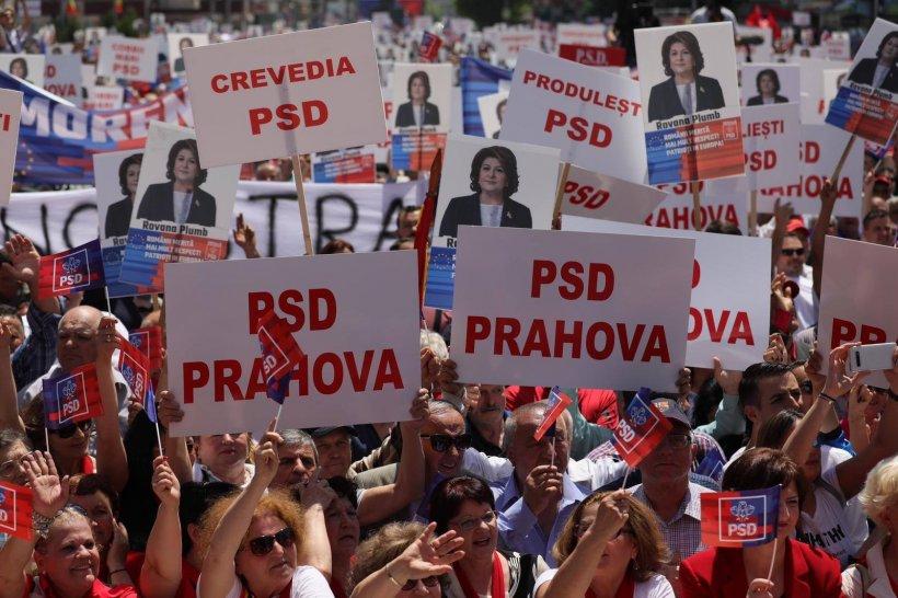 Alegeri Europarlamentare 2019. Miting electoral PSD la Târgoviște. Rovana Plumb: Rămânem în picioare, oricât ne-ar ataca!