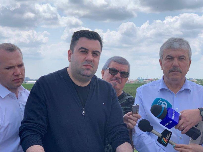 Ministrul Transporturilor, Răzvan Cuc, le promite gălățenilor un aeroport