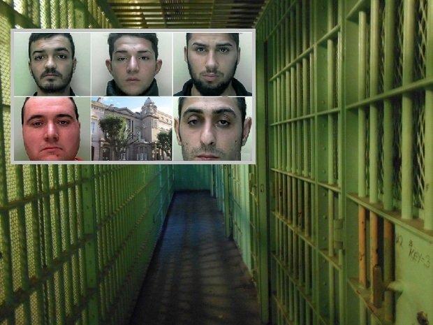 Cinci români, condamnați la câte 10 ani de închisoare după ce au violat o tânără în Marea Britanie și au filmat totul