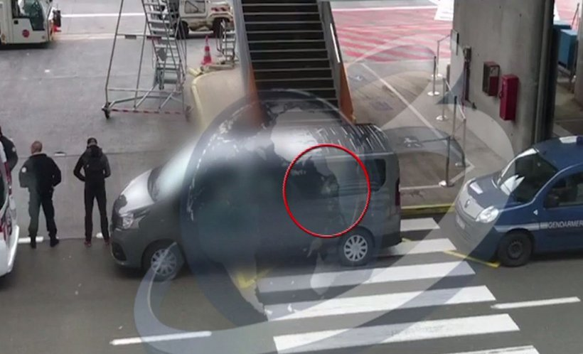 Radu Mazăre, filmat pe Aeroportul din Paris - VIDEO