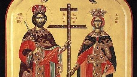 SFINȚII ÎMPĂRAȚI CONSTANTIN ȘI ELENA. Sărbătoare mare pentru Biserica Ortodoxă