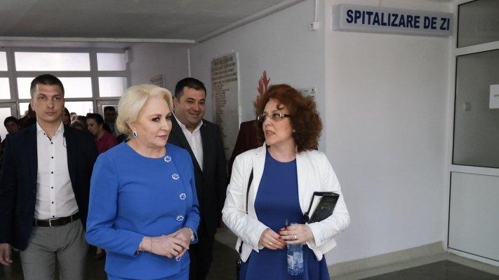 Premierul Dăncilă analizează varianta construirii unui spital nou la Bârlad