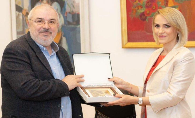 Primarul general, Gabriela Firea, a acordat Diplomă de Excelență profesorului dr. Gelu Colceag