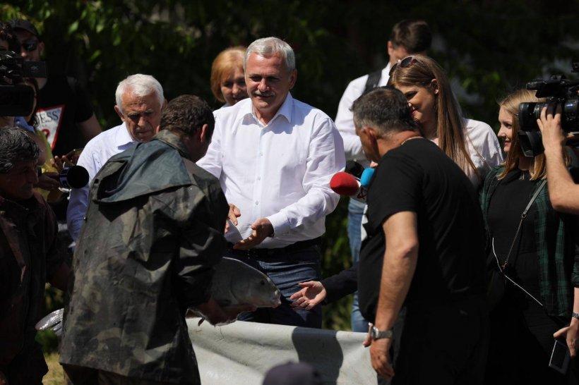 Liviu Dragnea: Mai mulți parlamentari fugiți la Ponta vor să se întoarcă în PSD